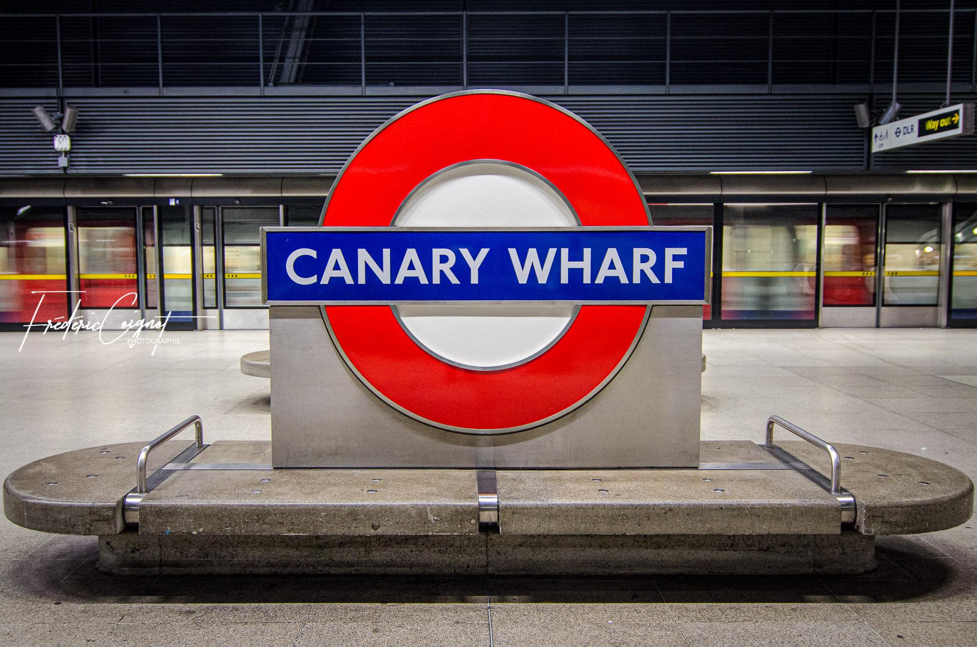 Canary Wharf, London par Frédéric Coignot